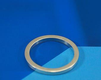 Minimalist Ring, Sterling Silver Ring, Modern, Contemporay, Minimal