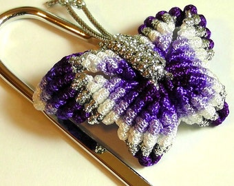 Chinese Knot Butterfly Bookmark - Rainbow
