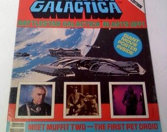 Battlestar Galactica Poster Magazine, 1978