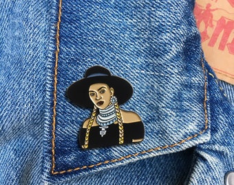 Beyonce Formation Pin, Soft Enamel Pin, Jewelry, Art, Artist, Gift (PIN116)