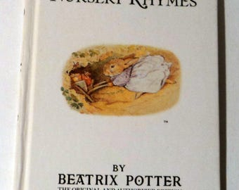 Beatrix Potter Childrens Book Vintage Book Cecily Parsley's Nursery Rhymes