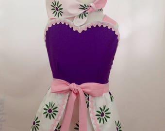 HM Tightrope Walker Girl's Wrap Around Romper, Vintage Style, Summer Sundress, Disneybound