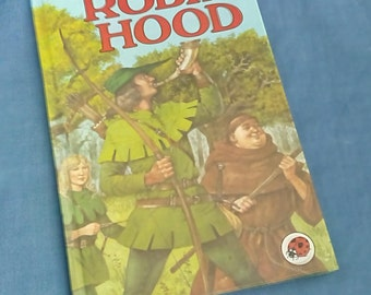 Vintage Ladybird Book Robin Hood Series 740 - 1st Edition 1985 - Glossy Covers