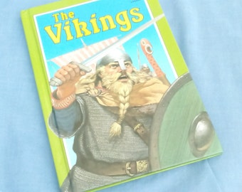 The Vikings - Vintage Ladybird Book Series 861 - Discovering - Glossy Covers - 1st Edition - 1986