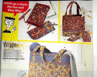 Simplicity 5598 - SEWING for Dummies tote and accessories