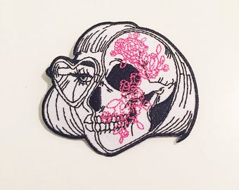 Skull Girl Patch