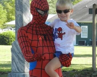 Spider-man Birthday Shirt / Personalized / Super Hero