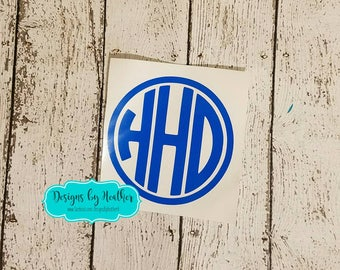 Personalized Decal - Car Decal - Monogram Decal