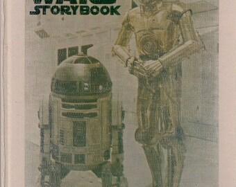 vintage Star Wars book, The Star Wars Storybook, vintage Star Wars gift, Star Wars collectible, Star Wars gift, Star Wars book