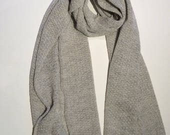 Extra Large Handmade Soft Wool Scarf.Winter Wedding Shawl. Travel Wrap shawl. Gift for sister. Evening dress  shawl.Trendy Christmas Gift