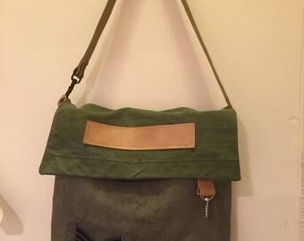 Large Vintage Military Bag
