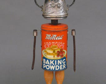 Robot Sculpture - Ms. Nessup