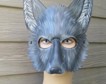 wolf costume etsy. Black Bedroom Furniture Sets. Home Design Ideas