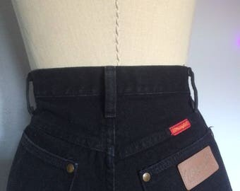 Vintage Black High-Rise Wranglers Size XS/S