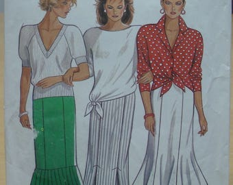 FREE SHIPPING! New Look 6616 skirt sewing pattern All sizes included. UNCUT
