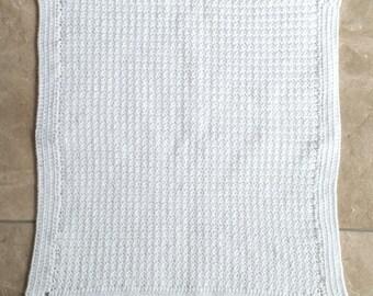 Textured Baby Blanket