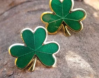 Shamrock Peirced Earrings