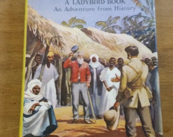 David Livingstone - 1960 Vintage Hardback Ladybird Children's Book - Illustrated