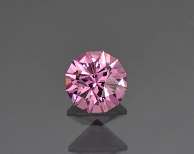 UPRISING SALE! Exceptional Precision Cut Silvery Pink Spinel Gemstone from Burma 1.49 cts.