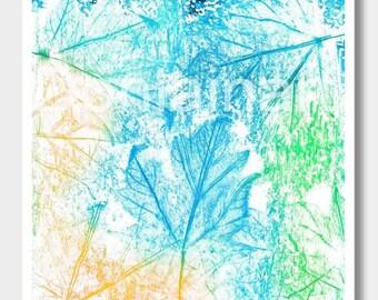 Abstract Art Prints, Semi Abstract, Pacific Northwest Prints, PNW Art, Leaf Art, Maple Leaf Prints, Nature Prints, Leaf Prints, Nature Art