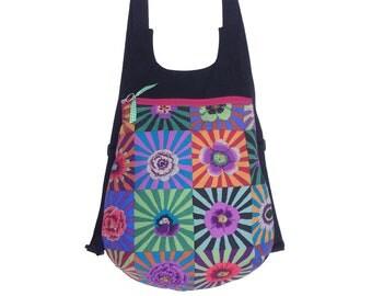 Fabric backpack, bohemian backpack, woman backpack,