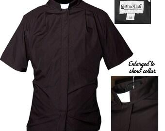 Priest Shirt and Collar / Parishioner Shirt / Priest Shirt