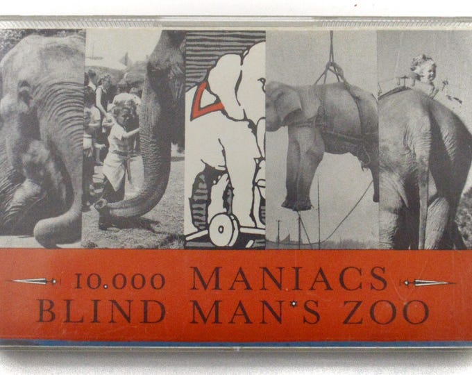 Vintage 80s 10,000 Maniacs Blind Man's Zoo Alternative Rock Album Cassette Tape