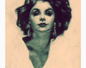Audrey Horne (Sherilyn) A4 Print