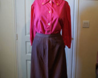 Genuine Original blouse made by hand from the 1940s.