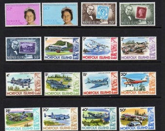 Lot Norfolk Island Stamps, UNUSED Stamps, Unused Postage Stamps, Stamps, Postage Stamps, Stamp Collection, Paper Crafts, Decoupage