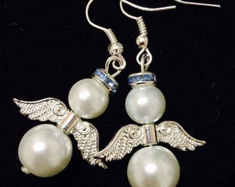 Angel Birthstone Earrings