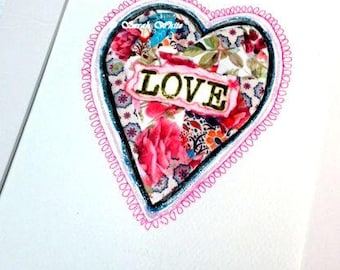 Loveheart floral