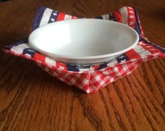 microwave bowl cozy hot pad