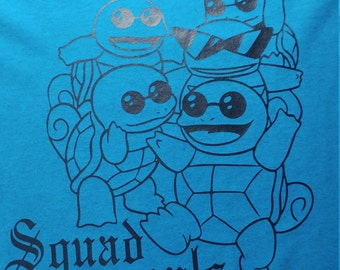 Squirtle squad t shirt