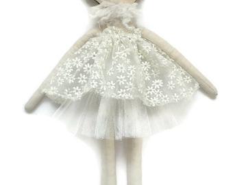 Princess Lola Doll, Cloth Doll, Handmade, 45cm