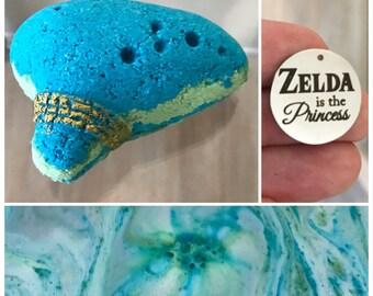 Zelda is the Princess- Ocarina Bath Bomb