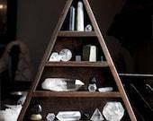 L'Original tout œil Triangle étagère pour l'affichage de cristal