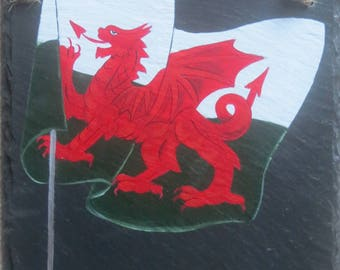 WELSH DRAGON Slate