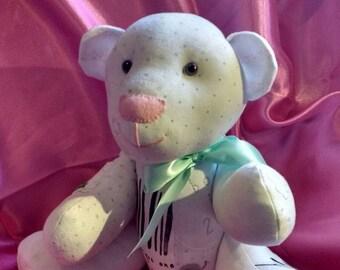 Small Keepsake Memory Bear