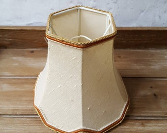 Vintage Lamp Shade Small Lamp Shade Cream Lamp Shade Bedroom Lampshade Living Room Lampshade Lighting Vintage Lighting