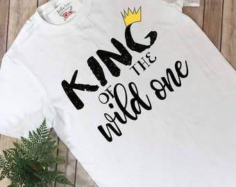 King of the Wild One, Wild Things Party, Daddy and Me Outfits, Family Shirts, Where the Wild Things Are, Wild Things Shirt, Wild One Party