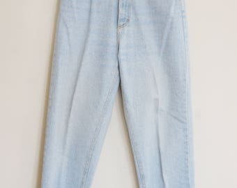 80's Lee High-Waisted Jeans // Made in USA // Size 10L