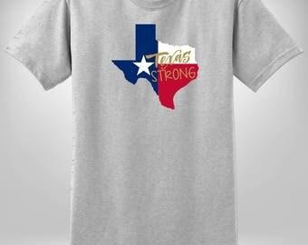 Texas Hurricane Relief Fundraiser Tee, Texas Strong Tshirt, Hurricane Harvey, Hurricane Harvey Shirt, Texas Tshirt, Texas Strong, Texas Flag