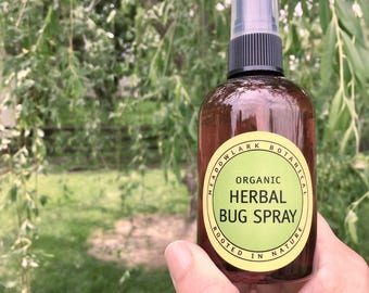 Pet Products - Organic Insect Repellent for Dogs | Mosquito Repellent | Pet Safe Bug Spray | Natural Bug Spray | Non Toxic + Kid Safe  5oz