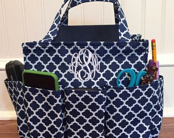 Utility Totes, Craft Tote, College Life, Utility Tote Bag, Rehab Tote, Diaper Tote, Beach Tote, Teachers Aide, Knitting, Gardening Tote,