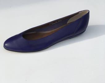Size 8 Purple Magdesians of California Flats Amethyst NWOT Eighties