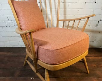 SOLD*****************Ercol Armchair available for Bespoke Upholstery