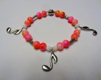 Music Note Charm Bracelet