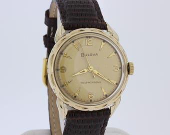 Self Winding Bulova Wrist Watch 10K Goldfilled