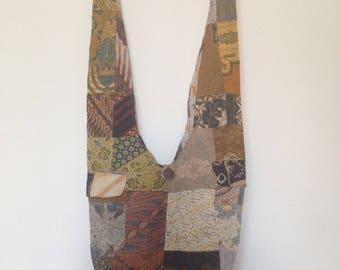 New Handmade Large Cotton Batik Quilt Patchwork Hippie Boho Hobo Casual Beach Yoga Travel Crossbody Sling Shoulder Bag- Men Women Bag Purse